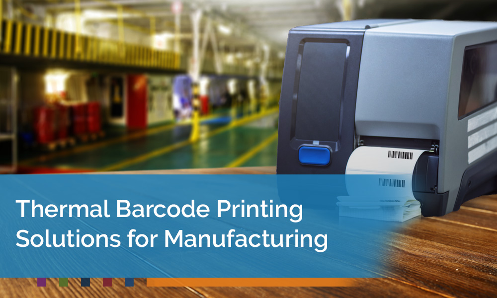 Discover Thermal Barcode Printing Solutions for Manufacturing